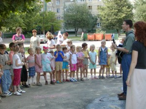 Children's ministry in Ukraine