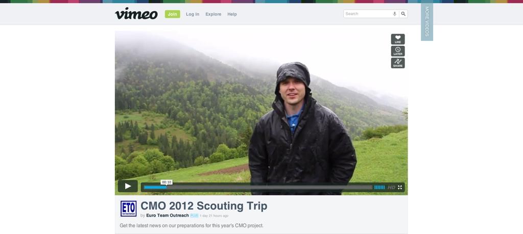 Scouting trip vimeo