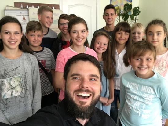 Kids' Class Selfie