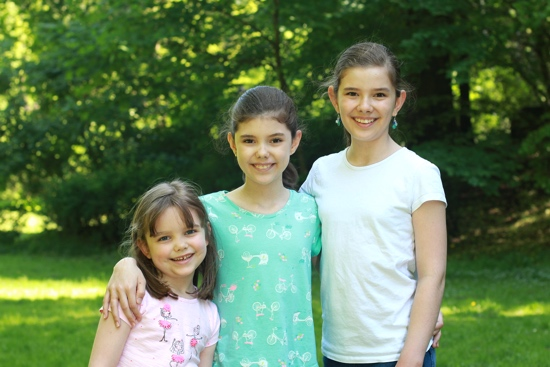 Hosanna, Rebekah, Abigail